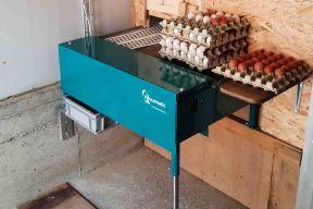 Eiersammeltisch elektrisch 230/400V